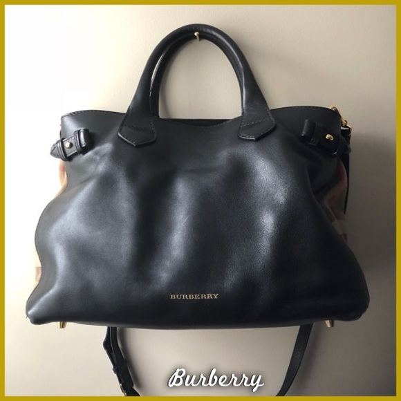 07bdb2ff605 Burberry Handbags - •HP• Burberry Banner Bag Medium